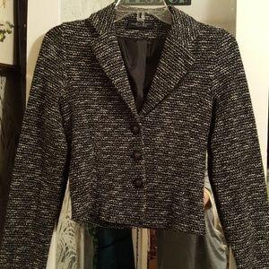 Small Cropped Light Blazer Jacket